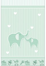 FUN BEBE ELEPHANT MINT