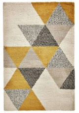 NOMAD TRIANGLES BEIGE OCRE