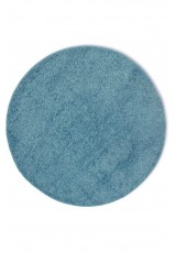 SHAGGY BLUE ROUND