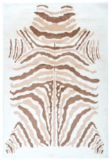 ANIMAL PRINT ZEBRA TAUPE