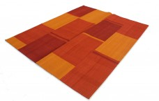 PATCHWORK 007 ORANGE/RED