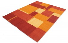 PATCHWORK 006RED/ORANGE