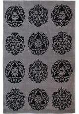 HANDTUFTED ACRYLIC 222-2 GREY