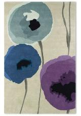 POPPIES INDIGO PURPLE