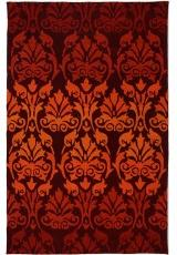 HANDTUFTED ACRYLIC 1L-3 RED