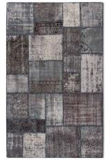 ANTALYA PATCHWORK KILIM GREY