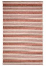 STYLISH STRIPES RUST RED