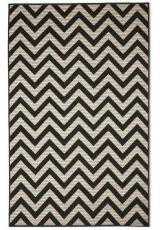 STYLISH BLACK ZIG-ZAG