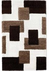 PASSION SQUARES IVORY BROWN