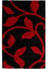 PASSION FLORAL BLACK RED