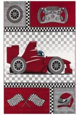 DIZZIE KIDS RACING CAR RED