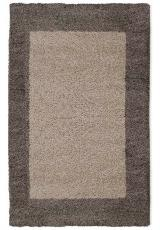 SHAGGY LIFE BORDER TAUPE