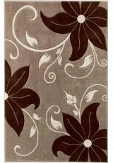 VENICE FLORAL BEIGE BROWN