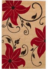 VENICE FLORAL BEIGE RED