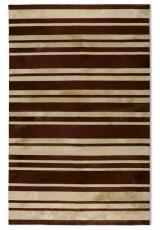STRIPES BEIGE D. BROWN 3058